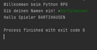 Mit Python ein TextAdventure programmieren für absolute Beginner
